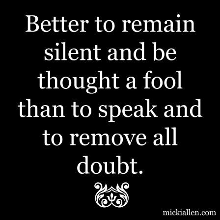 smart fool