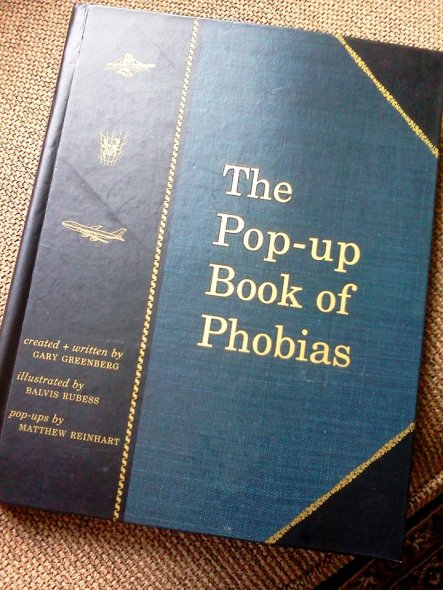 Coincidentally, I have a phobia of popup books