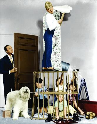 doris-day,-david-niven,-baby-gellert,-charles-herbert,-stanley-livingston,-and-flip-mark-in-please-dont-eat-the-daisies-(1960)-large-picture