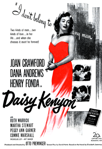 Joan Crawford in Daisy Kenyon